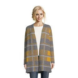 Betty Barclay Blanket Knit Cardigan Yellow