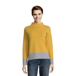 Betty Barclay Checked Jumper Yellow