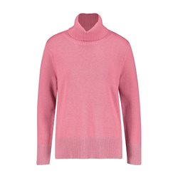 Gerry Weber Polo Neck Jumper Pink