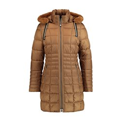 Gerry Weber Padded Coat With Hood Camel