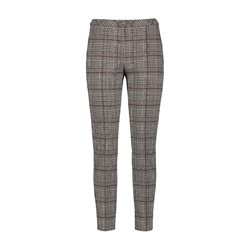 Gerry Weber Check Trouser Black