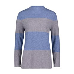 Betty Barclay Turtle Neck Jumper Blue