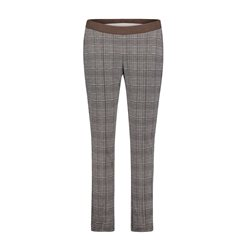 Betty Barclay Check Trouser Black