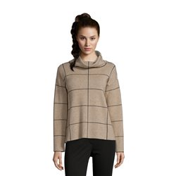 Betty Barclay Check Jumper Camel