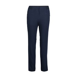 Betty & Co Pinstripe Trousers Navy