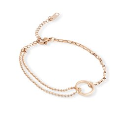 Elie Beaumont Ring Bracelet Rose