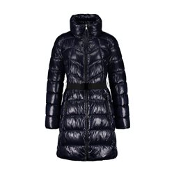 Gerry Weber Padded Coat With Belt Navy