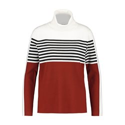 Gerry Weber Striped Jumper Rust