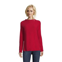 Betty & Co Fine Knit Jumper Red