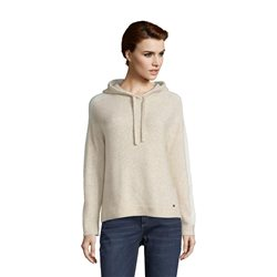 Betty & Co Hooded Jumper Beige