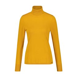 Taifun Polo Neck Jumper Saffron