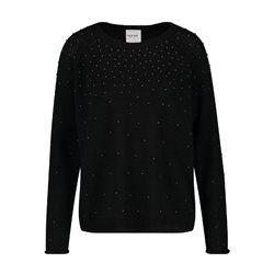 Taifun Sparkle Jumper Black