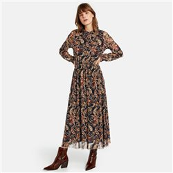 Taifun Paisley Print Dress Red