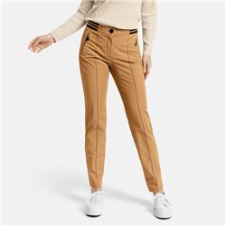 Gerry Weber Trousers With Stripe Beige
