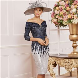 Ronald Joyce 991486 Dress Navy