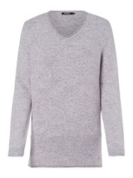 Olsen V Neck Soft Jumper Grey