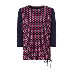 Olsen Spot Design Top Red