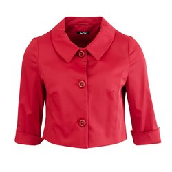 Vera Mont Button Jacket Red