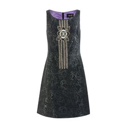 Fee G Sequin Dress Black