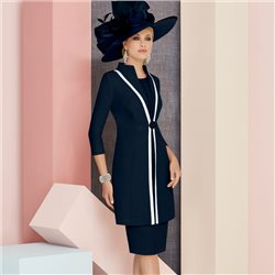 Ronald Joyce 991302 Dress And Coat Navy