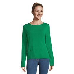 Betty Barclay Jumper With Pocket Green