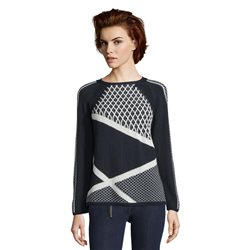 Betty Barclay Trellis Knit Jumper Blue