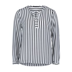 Betty Barclay Striped Blouse Cream