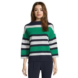 Betty Barclay Striped Top Blue