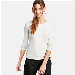Gerry Weber 3/4 Sleeve Classic Top Off White