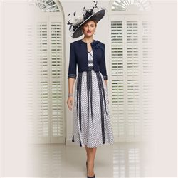 Ronald Joyce 991512 Dress And Jacket Navy
