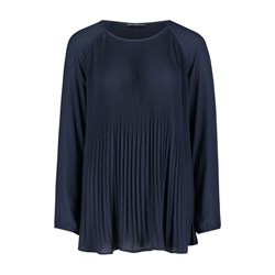 Betty Barclay Fine Pleated Blouse Blue