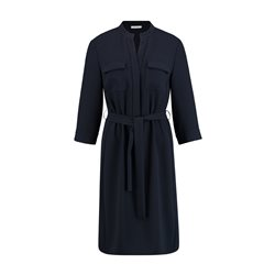 Gerry Weber Tie Belt Dress Navy