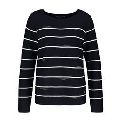 Gerry Weber Jumper With Stone Detail Navy