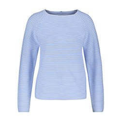 Gerry Weber Fine Stripe Jumper Blue