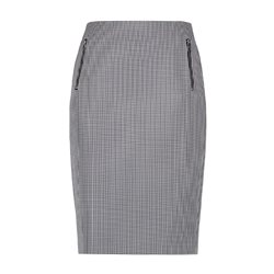 Gerry Weber Vichy Check Skirt Navy