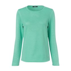 Olsen Knitted Waffle Jumper Mint