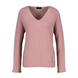 Monari Jumper With Rhinestones Detail Pink