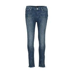 Monari Denim Jean With Sparkle Blue