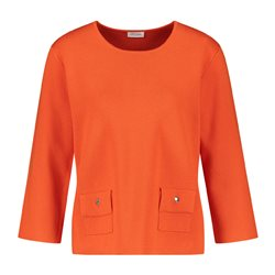 Gerry Weber Pocket Detail Jumper Orange