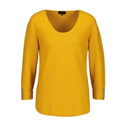 Monari 3/4 Sleeve Jumper Yellow