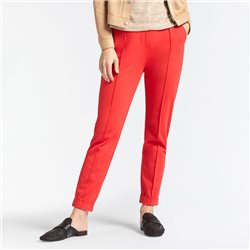 Sandwich Jersey Trouser Red
