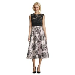 Vera Mont Floral Dress Black