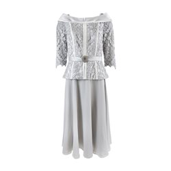 Ronald Joyce 991437b Dress Silver