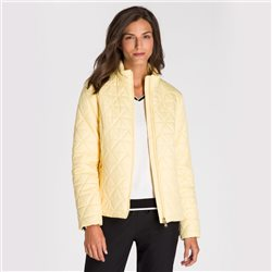 Olsen Quilted Jacket Lemon