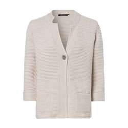 Olsen One Button Cardigan Beige