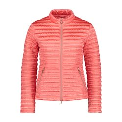 Betty Barclay Quilted Down Jacket Coral