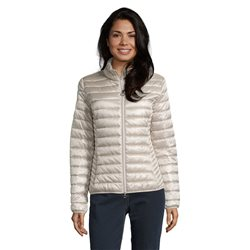 Betty Barclay Short Quilted Jacket Beige