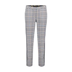 Betty Barclay 7/8 Check Trouser Blue
