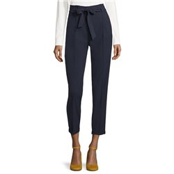 Betty Barclay Tie Belt Trousers Navy