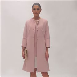 Fee G Long Coat Blush
